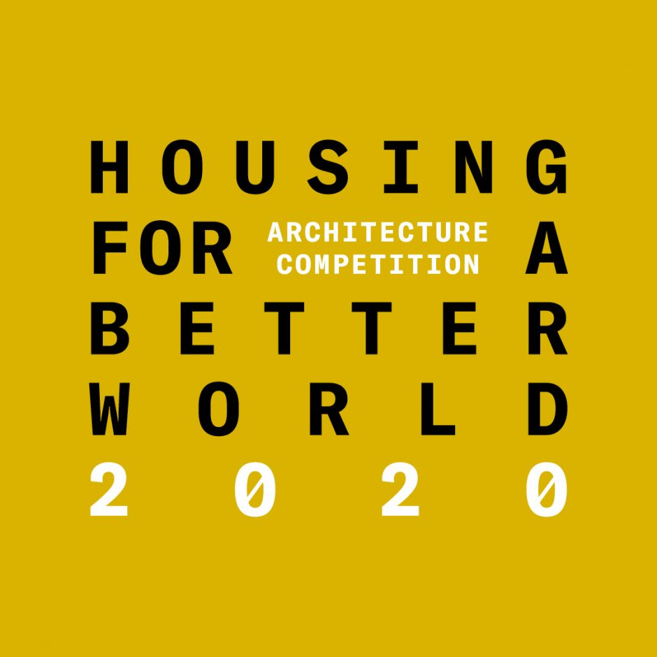 Architecture competition launched to design housing for a better world.