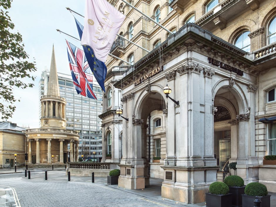 The Langham, London partners with Blueprint for All as part of their 'Stay and Do Good' initiative, to give back to local communities