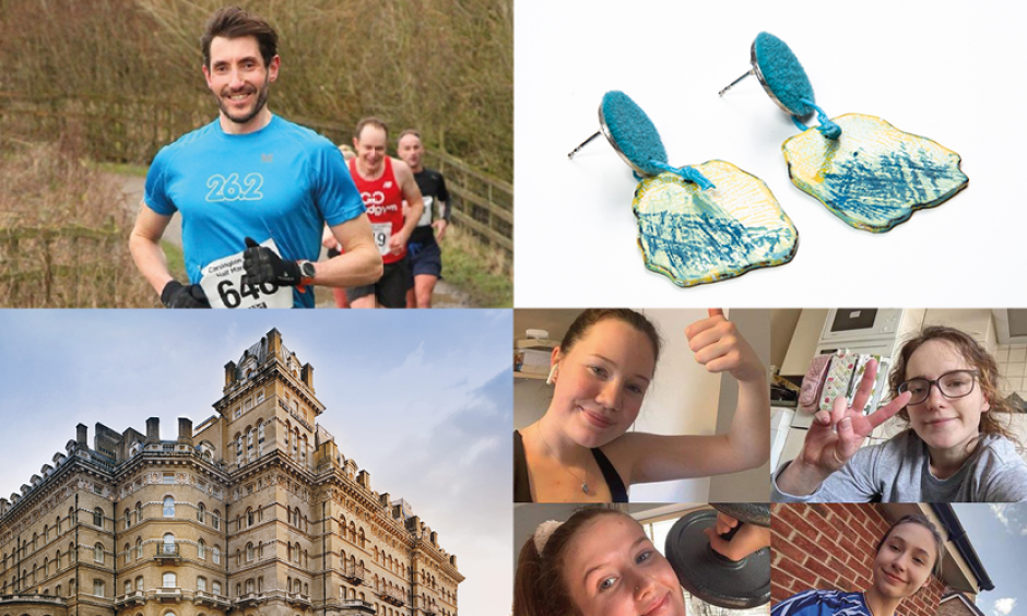 Spotlighting some of our incredible fundraisers and supporters, undertaking  sports challenges, charity auctions and 'empowering' hotel stays